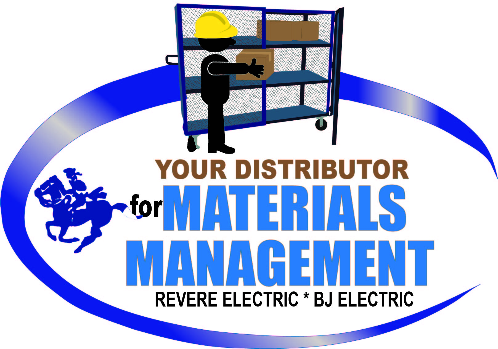 Revere Electric Material Management Logo