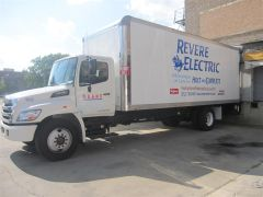 Revere Electric box truck