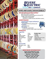Wire and Cable Management Brochure