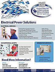 Switchgear Electrical Power Solutions Flyer