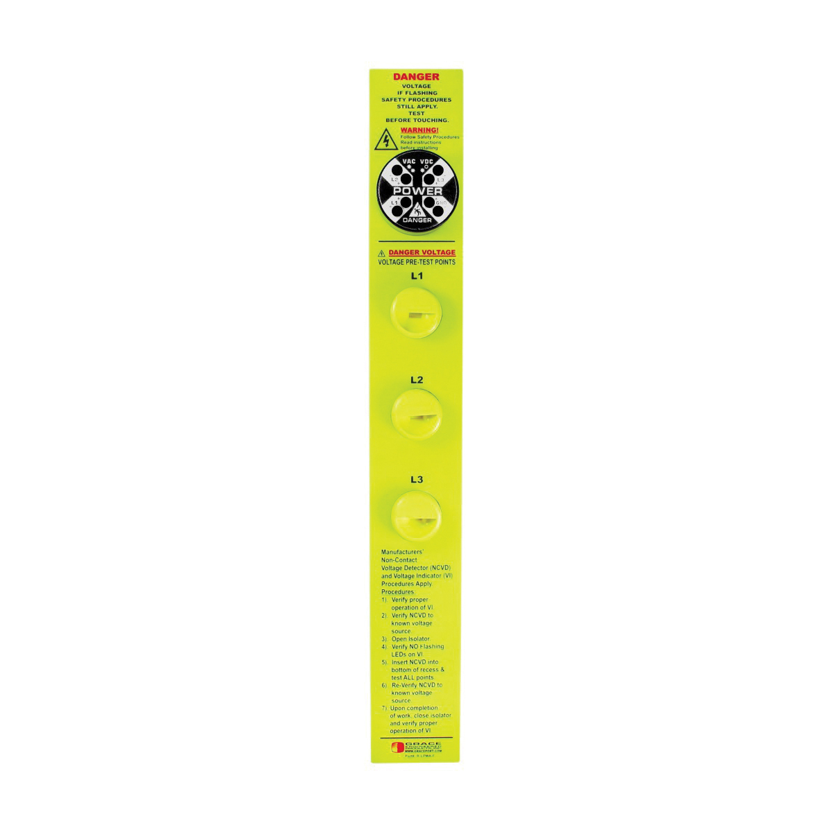 Grace Engineered Products R 1a0033w Nplpf Revere Electric Noncontact Voltage Detector Gets The Job Done Quickly And Safely